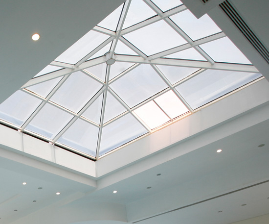 Architectural glass dr greiche glass for Architectural skylights